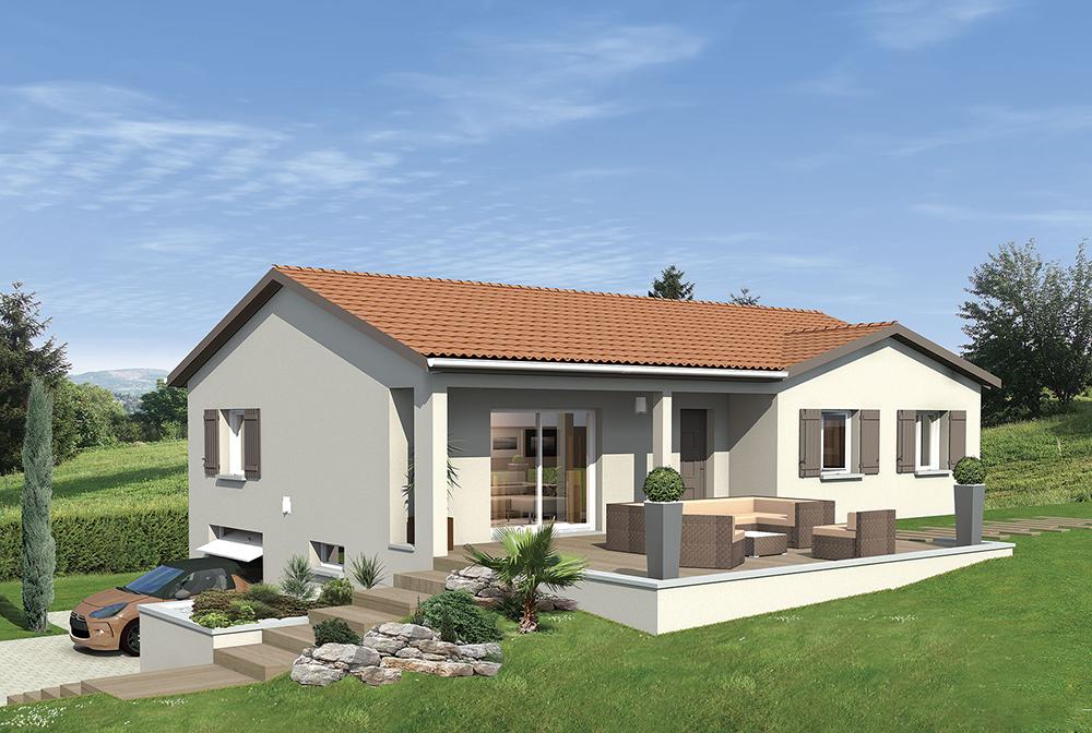 Maisons punch constructeur de maison dans l 39 ain rh ne for Constructeur de maison contemporaine dans le rhone