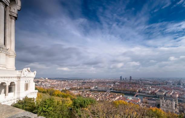 Panorama de Lyon, pris depuis la Basilique de Fourvière